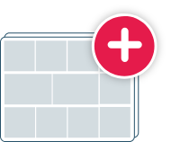 Icon to illustrate creating a plan